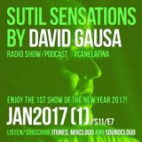 Sutil Sensations Radio/Podcast -January 12th 2017- Enjoy the 1st show of 2017 with fresh new music!