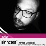 sinncast* #032 - James Benedict (Savoir Faire Musique / What Happens / UK)