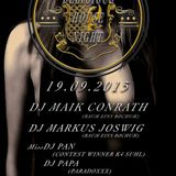19.09.2015 Maik Conrath @ Delicious House Night // Lichtenfels