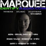 BarryB live on Identify Radio for Marquee's weekly mix 15/03/2019