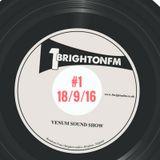 Venum Sound Radio Show #1 (18/09/2016)