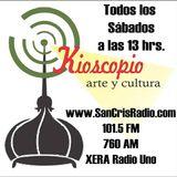 Kioscopio - 18 de octubre 2014 - parte 1 de 4 - entrevista con Kim Balam Ramírez