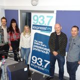Russell Hill's Country Music Show on Express FM feat. Emily Faye + VoodooVamps. 11/02/18