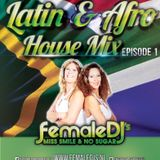 LATIN AFRO HOUSE FEMALE DJS