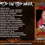 Hard Rock Hell Radio - The Fix! 19.09 11 Mar 19 - A music show for Rivets