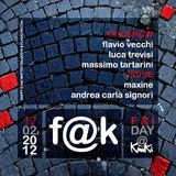 Flavio Vecchi @ F@K (Kinki), BO - 17.02.2012