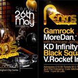 RANKIN B DAY BASH - 26-5-18 -NOTTINGHAM - V. ROCKET, GAMROCK, BLACK SQUAD, KD INFINITY, MOUR DAN PT1