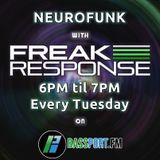 Freak Response - Bassport FM Show Tuesday 23rd August 2016