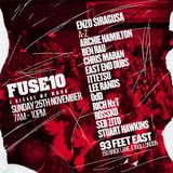 Enzo Siracusa – Live @ Fuse10th Birthday [Studio 338, London] 25.11.2018
