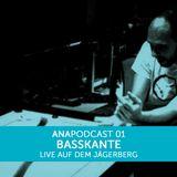 ANAPOD#01 BASSKANTE live aufm jägerberch