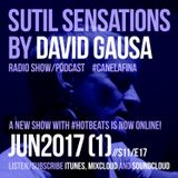 Sutil Sensations Radio/Podcast - June 1st 2017 - Enjoy a new show with #HotBeats and #CanelaFina!