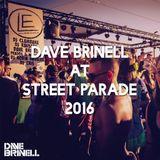 DAVE BRINELL AT STREET PARADE 2016