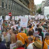London Climate March Mix