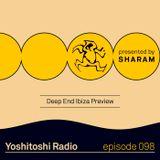 Yoshitoshi Radio 098 - Deep End Ibiza Preview
