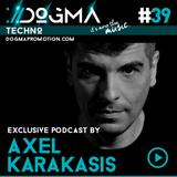 Axel Karakasis - – Techno Live Set // Dogma Techno Podcast [June 2015]