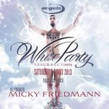 BIRTHDAY PODCAST FOR WHITE PARTY ZURICH 2013 - MICKY FRIEDMANN