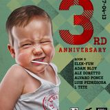 Elek-Fun Closing Set@Leading Astray 3rd anniversary 1st Round -THE EGG 27_04_13