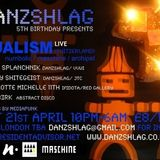 DUALISM Live PA @ DANZSHLAG, London (UK) 21.04.2012