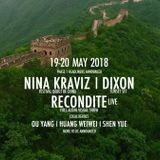 Nina Kraviz from the Great Wall of China 19-05-2018