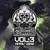 [NEUROKORPS] Neurofunk Mix Vol.3 April 2018