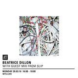 Beatrice Dillon & Slip - 28th March 2016