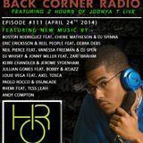 BACK CORNER RADIO: Episode #111 (April 24th 2014)
