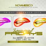 12/29 PARTY UP! @ Noamesco Bar & Lounge Downtown Worcester.