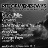 AndyVica Live @ Rite of Wednesdays 09/05/2012