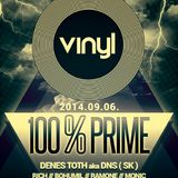 100 % Prime - Vinyl Club live by Reibina