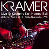 DJ Kramer - Live @ Kostume Kult Horned Ball 2015 - NYC - April 4,2015