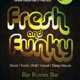 F&F Resident DJ Jason Fakeerah - Funky & Soulful House - Bar mix Pt1
