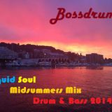 Liquid Soul Midsummer DnB Mix 2014
