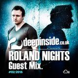 ROLAND NIGHTS is on DEEPINSIDE
