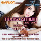 Evalion Presents TransXantium Episode 019 (Trance-Energy Radio)
