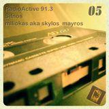 miliokas on RadioActive 91,3 - 05