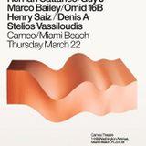 Stelios Vassiloudis - Live Mix at Cameo, Miami 22-03-2013