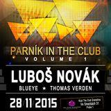 Luboš Novák @ The Club Granatina, 28.11.2015 (Parník In The Club Vol.1)