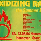 Steve Mason @ Oxidizing Rave - Hanomag Hannover - 13.08.1994