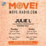 JULIE L 4th May SHOW ON MOVE RADIO
