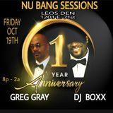Greg Gray Live at Nu Bang Sessions Chicago 1 Year Anniversary