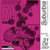 SUBURBIA CHART Edizione del 31 Ottobre 2003 - RIN RADIO ITALIA NETWORK
