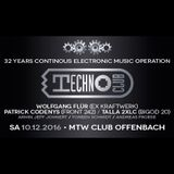 Technoclub 32 Years - Andreas Froese b2b Torben Schmidt live @ MTW (2016-12-10)
