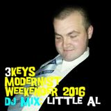 3Keys Modernist Weekender 2016 - Little Al - DJ Profile