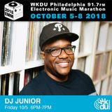DJ Junior - 2018 WKDU Electronic Music Marathon