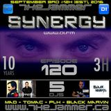 The Jammer - Synergy 2016 Podcast 09 feat. Tomac, PLH, Mad and Black Marvin [EPISODE 120 - 10 Years]