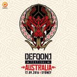 Angerfist | BLACK | Defqon.1 Australia 2016