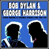 Bob Dylan and George Harrison  Columbia Studios B 1970