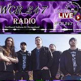 WCR247 Interview with TWELVE NOON on The Metal Angel Rockshow