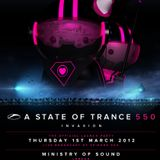 #ASOT550 - Armin van Buuren - Live at Ministry of Sound in London, UK (01.03.2012)