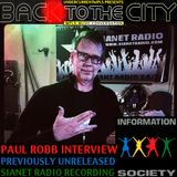 PAUL ROBB (INFORMATION SOCIETY) previously-unreleased SIANET RADIO-recorded BACK TO THE CITY Special